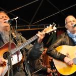Am Ende gemeinsam auf einer Bühne: Peter Kerlin und Allan Taylor