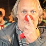 Perter Kerlin mit roter Nase...
