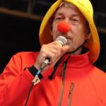 Dieter Wassilke mit roter Nase...